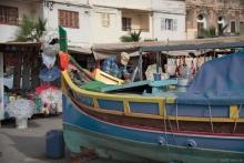 Fischerboote im Hafen von Marsaxlokk
