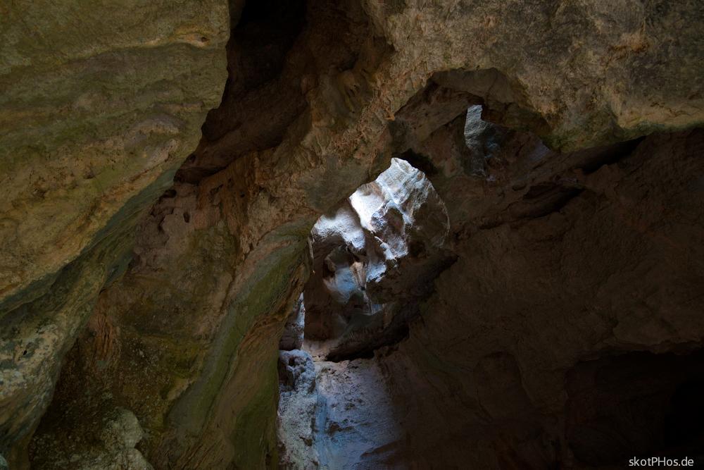 In der Grotta de sa Oche
