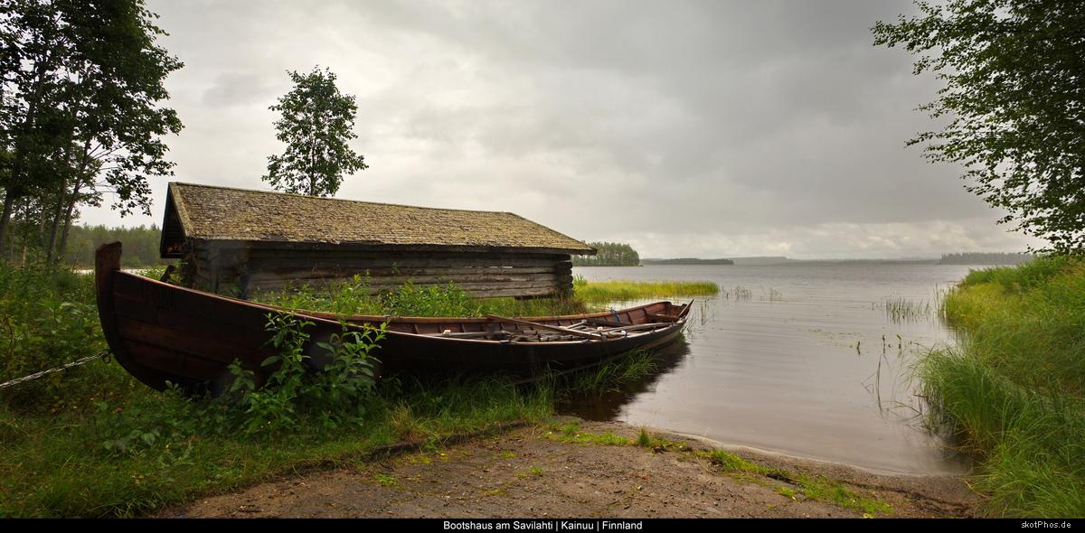 Bootshaus am Savilahti
