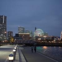 Winter Illumination at Yokohama Bay Area
