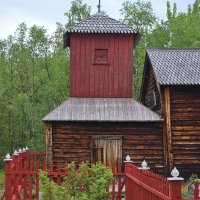Wildniskirche in Pielpajärvi