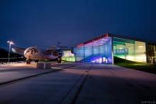 Dornier Museum am Abend