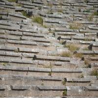 Im Amphitheater von Delphi