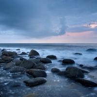 Am Strand von Eggum