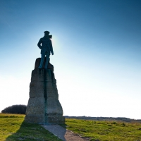 Hubert Latham Statue