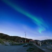Nordlicht in Grense Jakobselv