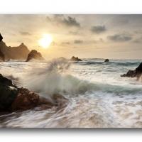 Sturm am Praia da Ursa