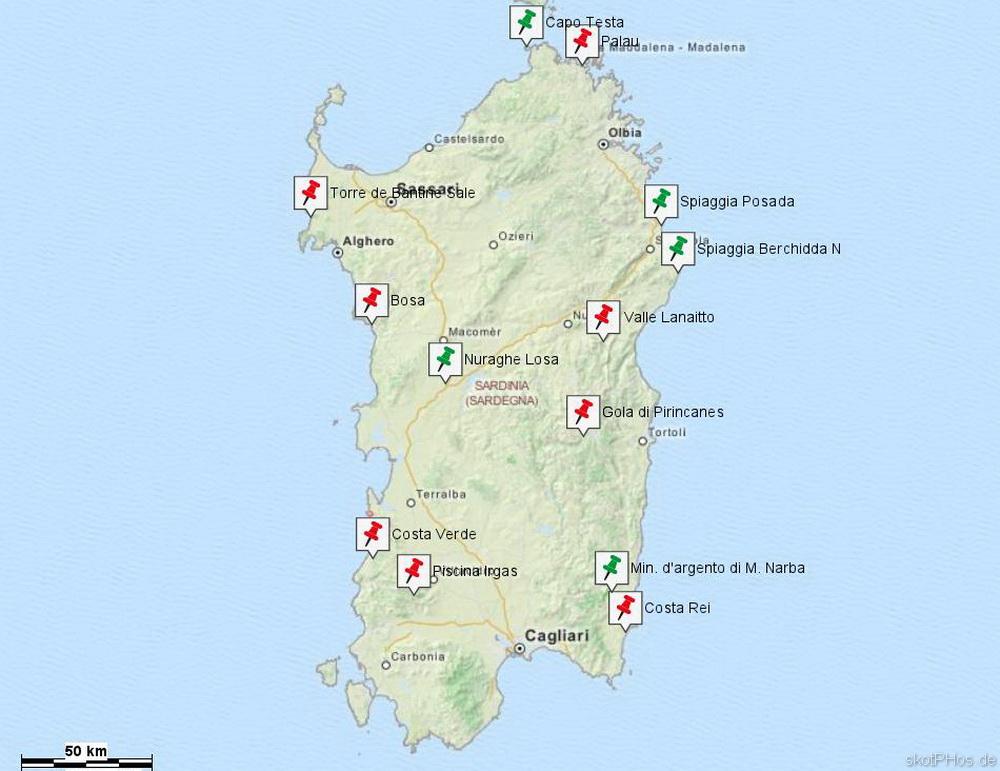 Sardinien - kleiner Kontinent im Mittelmeer