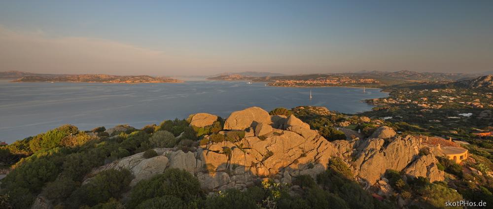 Blick vom Punta Sardegna