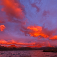 Colours of the night   Nordland   Norway