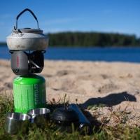 Espresso at the beach